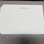 "Letter Size Cover Engraved ""Last Will and Testament"""