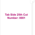 11370 Tab 1 (Side 25th Cut)